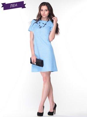 Платье голубое   2345478