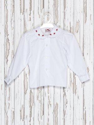 Блуза белая с вышивкой | 2379510