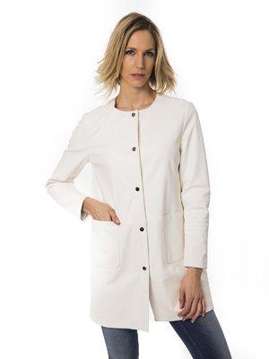 Пальто молочного цвета | 2392737