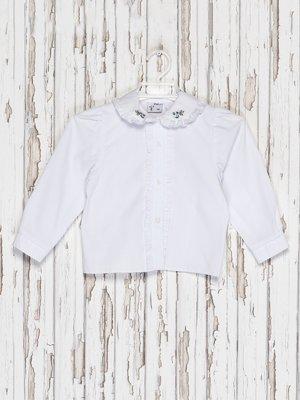 Блуза белая с вышивкой | 2379509