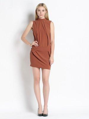 Платье коньячного цвета | 2257434