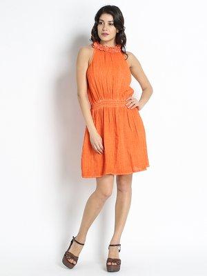 Платье оранжевое | 2321851