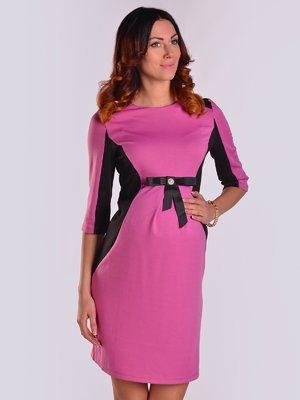 Платье малиново-черное   2205671