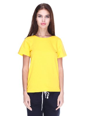 Футболка желтая | 2391604
