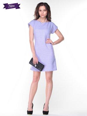 Платье светло-фиолетовое | 2345666