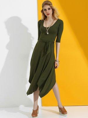Сукня кольору хакі   2393880