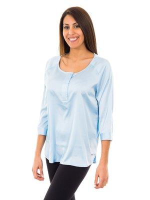 Блуза блакитна | 2420714