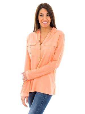Блуза світло-коралова | 2420717