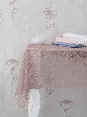 Скатерть белая (145х145 см)   2424230