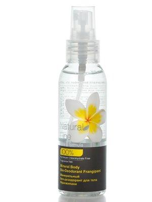 Мінеральний біо-дезодорант для тіла «Франжіпані» (100 мл) | 2419329