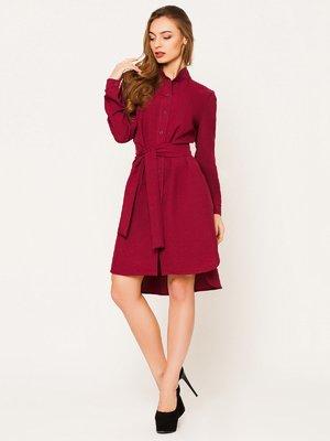 Сукня бордова | 2425810