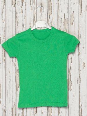 Футболка зеленая | 2414700