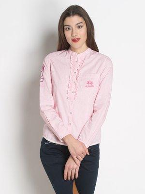 Блуза рожева в смужку | 2377951