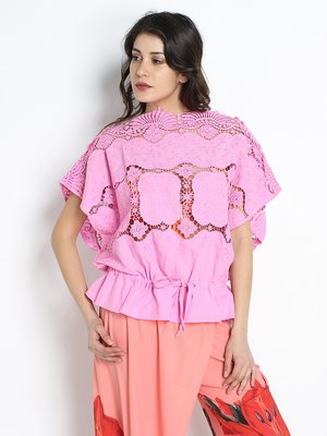 Блуза сиреневая | 2380995