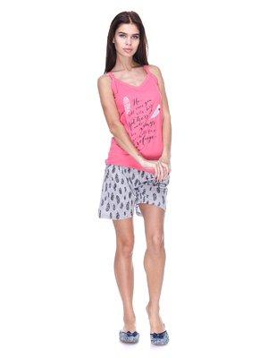 Пижама: майка и шорты | 2423766
