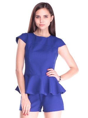 Блуза цвета электрик | 2439833