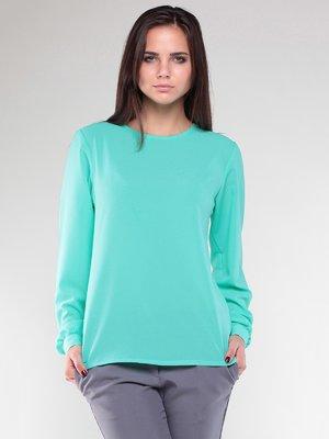 Блуза ментолового цвета | 2442459