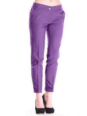 Штани темно-фіолетові | 2442471
