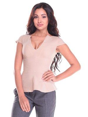 Блуза бежева | 2442490