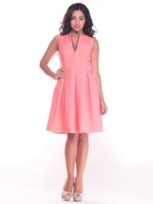 Платье темно-персикового цвета | 2442493