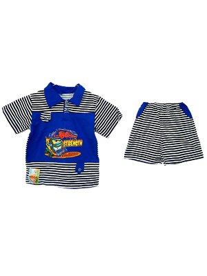 Комплект: футболка-поло и шорты | 1768387