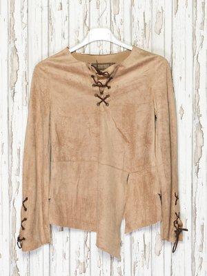 Блуза коричнева | 1051384