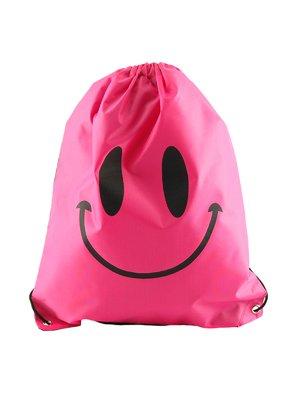 Рюкзак рожевий з принтом | 2454064