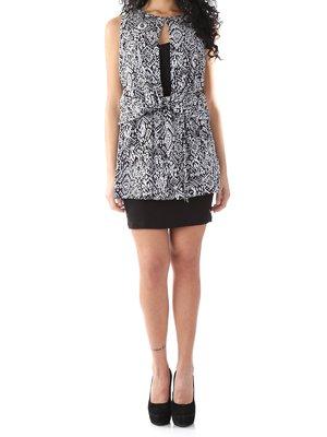 Сукня чорна з візерунком   2453680