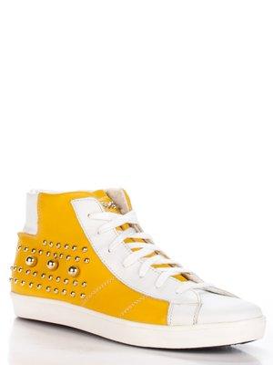 Кеды желто-белые | 2452998