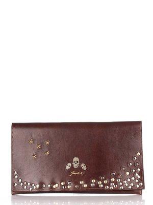 Клатч коричневий | 2453101
