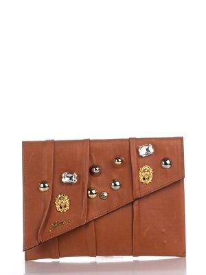 Клатч коричневий | 2453102