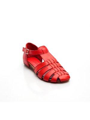 Сандалии красные | 2460122