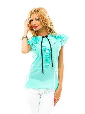 Блуза мятного цвета   2461362