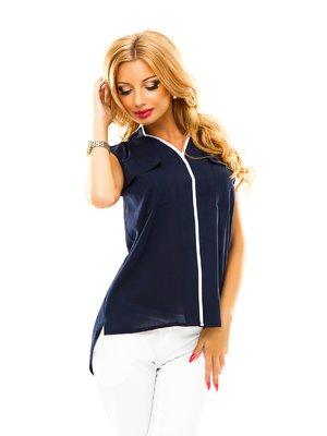Блуза темно-синяя   2461369