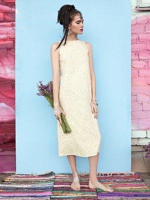 Платье желтое   2471726