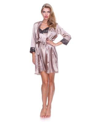 Комплект: сорочка нічна і халат | 2468747