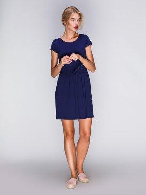 Платье темно-синее | 2468787