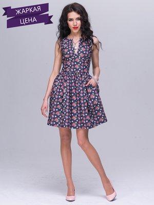 Платье цветочной расцветки | 2278514