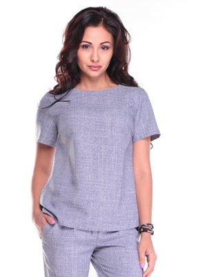 Блуза цвета фиолетовой дымки | 2484623