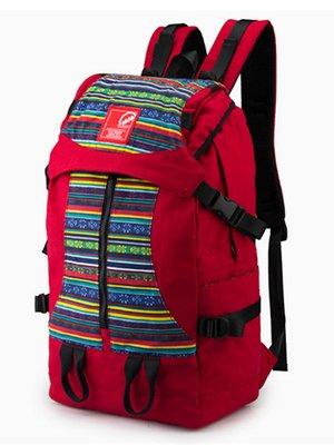 Рюкзак красный с орнаментом   2487697