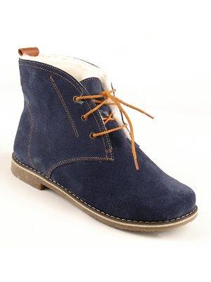 Ботинки синие   2488151