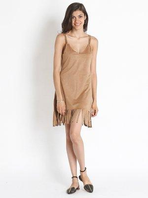Платье песочного цвета | 2489381