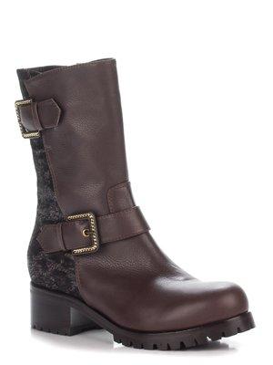 Ботинки коричневые | 2185938