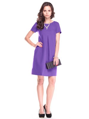 Платье фиолетовое | 2472801