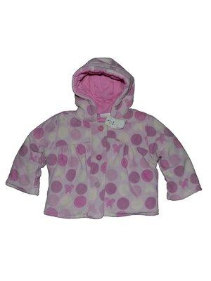 Куртка розовая в горох | 2493032