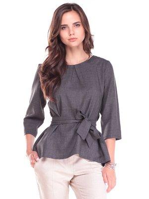 Блуза графітового кольору | 2495608