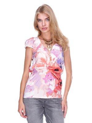 Блуза квіткового забарвлення - Love Republic - 1834294