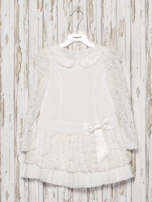 Платье молочного цвета   3343236