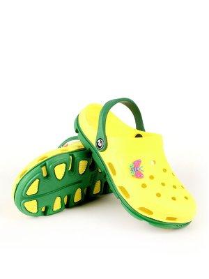 Сабо желто-зеленые | 2508548