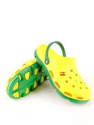 Сабо желто-зеленые | 2508564